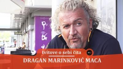 Maca, Dragan Marinković, glumci, tvitovi, tviter, komentari, hejteri, fanovi, serije, komedija, komičar