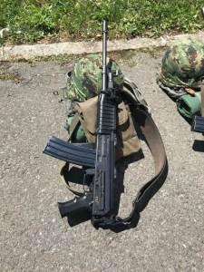 Vojna oprema, puška, šlem, vojska, vojna akademija