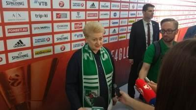predsednica litvanije, dalija gribauskaite