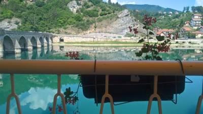 reka, drina, višegrad, ćuprija, most