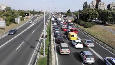 protest gorivo gužva automobili saobraćaj kolaps