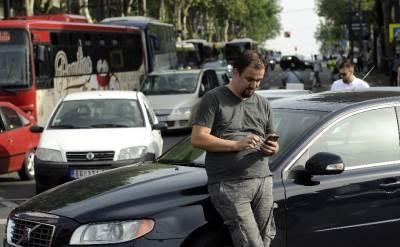 slavija protest zbog cene goriva