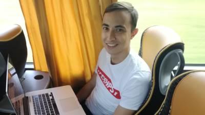 Viktor La Regina, brazilski novinar