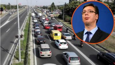 vučić gorivo protest