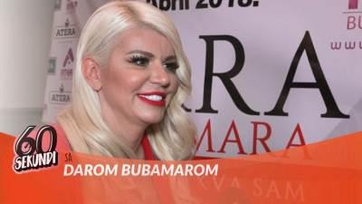 Dara Bubamara, pevačice, narodnjaci, 60 sekundi, mondo tv