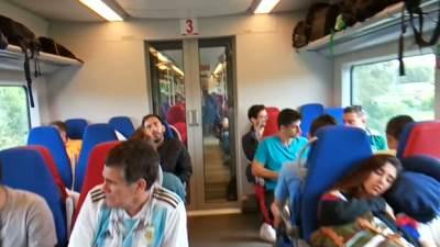 MONDO u vozu za Njižni