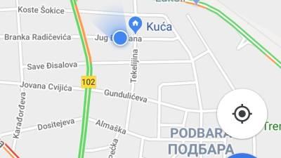 Google Maps novi izgled Srbija navigacija mape
