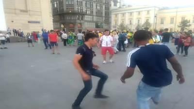 Fudbal na ulicama Moskve
