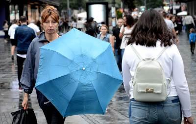 kišobran, kiša, leto, kišno leto