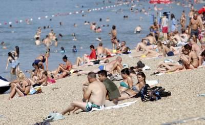 ada ciganlija, vrućina, plaža, leto, lepo vreme,