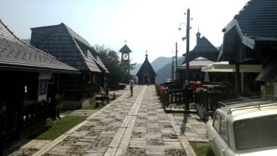 Mećavnik, Drvengrad, Mokra Gora