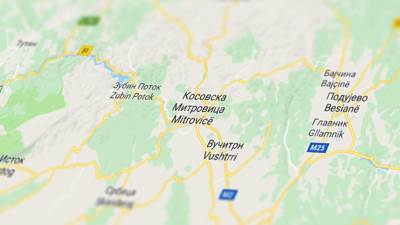 sever kosova kosovo kosovska mitrovica zbin potok podujevo glavnik