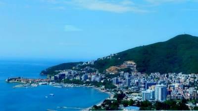 budva crna gora more plaža