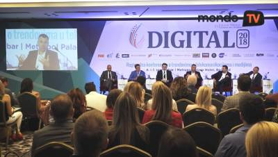 Telekom Srbija, konferencija, mondo tv