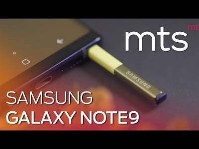 Samsung Galaxy Note 9 video test