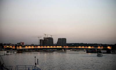 brankov most, beograd, reka sava, beograd na vodi,