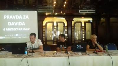 Davor Dragičević, pres konferencija