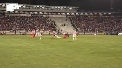 Partizan - Crvena zvezda 1:1 (158. večiti derbi)