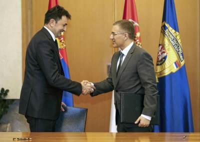 Telekom, MUP, potpisivanje ugovora, ćulibrk