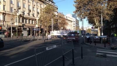 polumaraton, maraton, zatvoren grad, zatvoren saobraćaj ,beograsdski polumaraton, beograd, saobraćaj