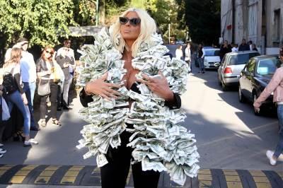 jelena karleuša, dolari, dolar