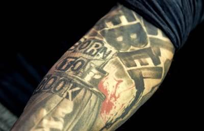 ajk cimer, eyck zimmer, the plate, kuvar, tetovaža