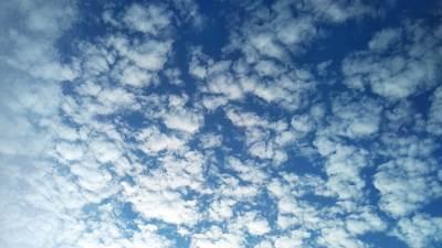 oblaci, oblačno, sunce, nebo