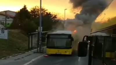 Autobus gori