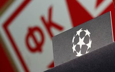 crvena zvezda, liga šampiona, uefa, logo