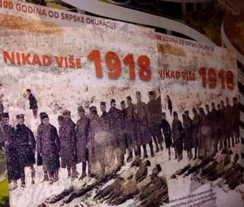 plakati, crna gora, 1918.