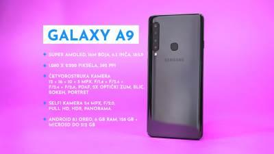 Samsung Galaxy A9 četiri kamere cena u Srbiji, Galaxy A9 prodaja, Galaxy A9 kupovina, Galaxy A9 utisci, Galaxy A9