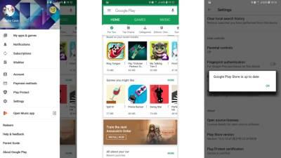 Google Play prodavnica novi izgled, Kako aktivirati novi Google Play, Google Play prodavnica aplikacija