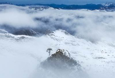 austrija, zima, sneg, planina, zimovanje, skijanje, Kaprun