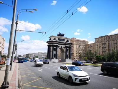 moskva, saobraćaj, trijumfalna kapija