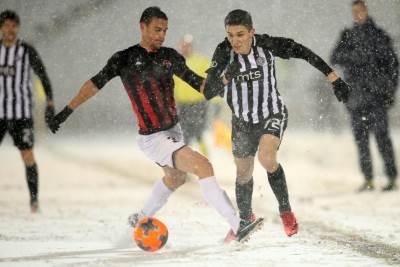 Partizan, Mačva, sneg, Tešović, Mirković, Humska, JNA