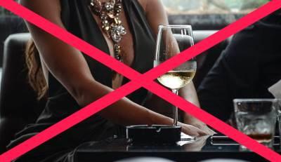 pevačice,zabrana,dekolte,piće