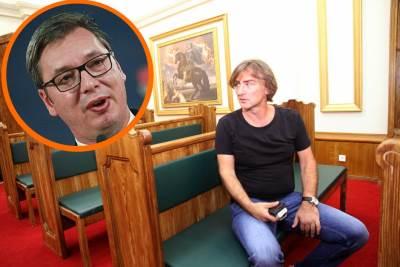 Željko Mitrović i Vučić