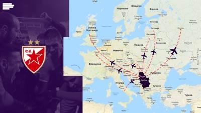 fkcz, mapa, putopis, zvezda, karta evrope