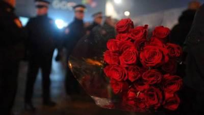 Pravda za Davida protest, ruže
