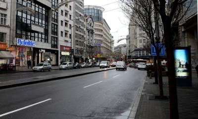 prazan beograd, puste ulice, praznici