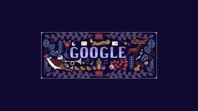 Google.rs Božić Google Doodle