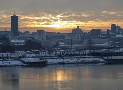 mraz, zima, jutro, beograd, sneg