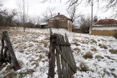 selo, seljak, napušteno, seosko,
