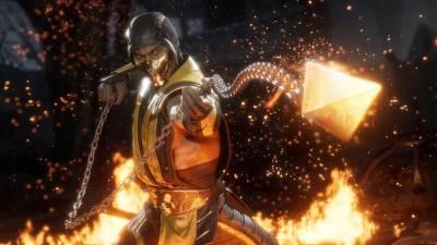 MK11, Mortal Kombat 11, Scorpion, Škorpion