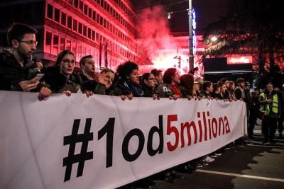 jedan od pet miliona protest opozicija