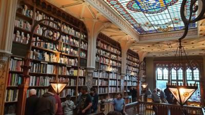 Livraria Lello, Hari Poter Biblioteka, Porto Portugalija