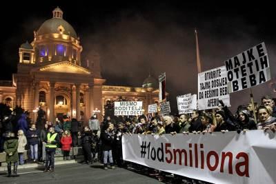 protesti, protest 1 od 5 miliona, stop krvavim košuljama, počelo je