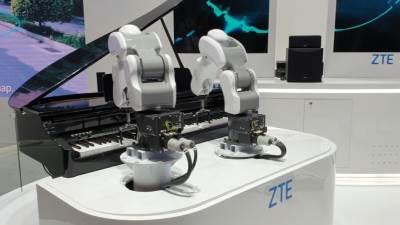 ZTE Robot Musician