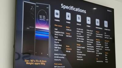 Sony Xperia 1, Xperia 10, Xperia 10 Plus, Xperia