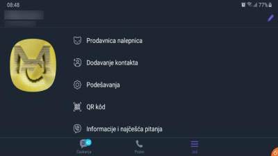 Viber Dark Mode uključiti